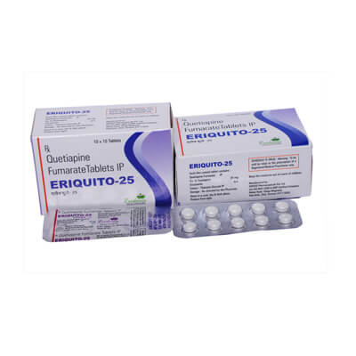Quetiapine 25mg