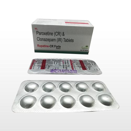 Paroxetine (CR) & Clonazepam (IR)