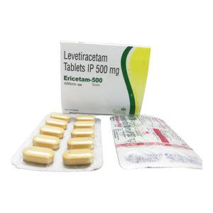 Levetiracetam tablets IP 500 mg