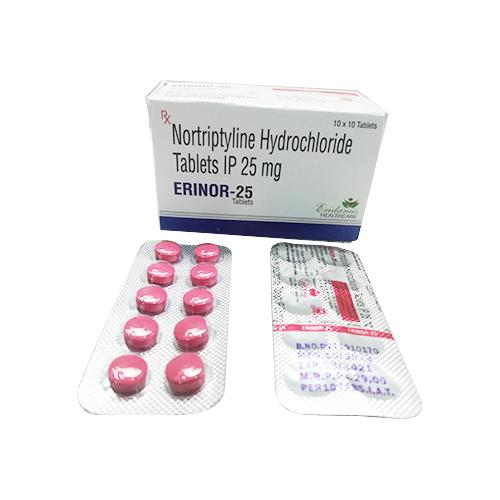 NORTRIPTYLINE HYDROCHLORIDE TAB